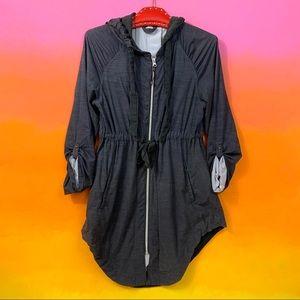 lululemon athletica • dark gray vitality jacket m